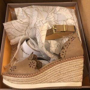 Espadrille wedges perfect for summer